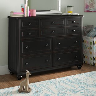 Grovelane Teen Aerial 8 Drawer Double Dresser