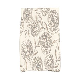 Jud Antique Flowers Hand Towel