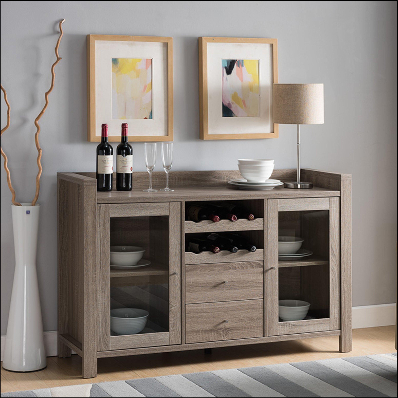 Ebern Designs Ahmeir 51 Wide 2 Drawer Sideboard Wayfair