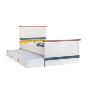 Saffo Twin Platform Bed with Drawers