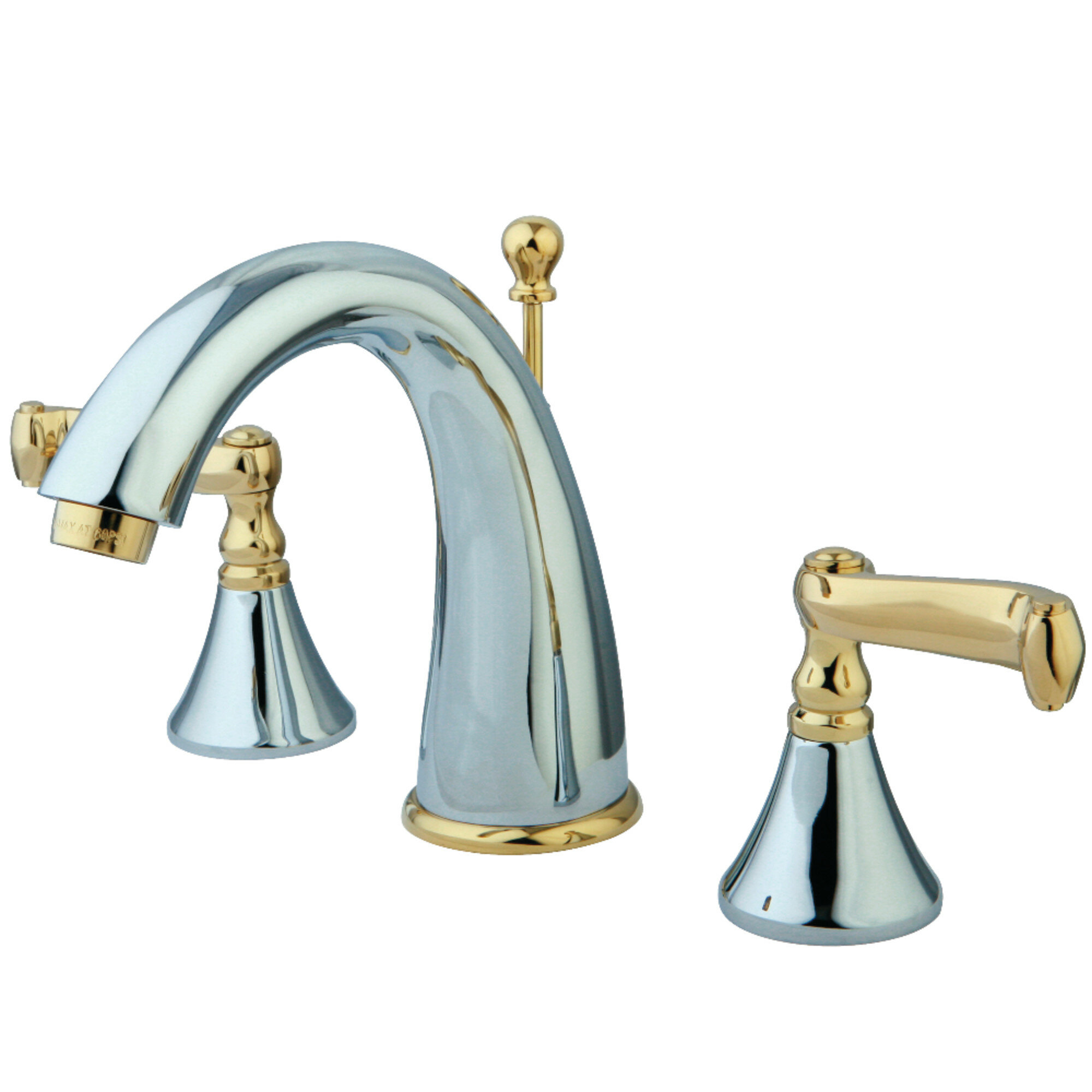 Kingston Brass Royale Widespread Bathroom Faucet With Drain Assembly Wayfair