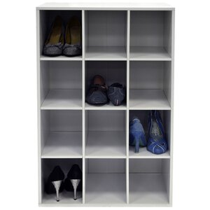 Shoe 12 Box 4 Tier Shoe Rack