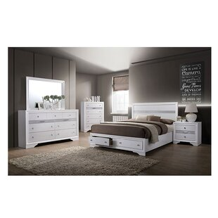 Asa Platform Configurable Bedroom Set by Ebern Designs