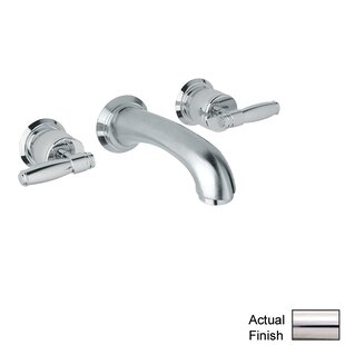 Rohl Zephyr Double Handle Wall Mounted Sp..