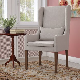 Tenorio Wingback Chair by Charlton Home Purchase