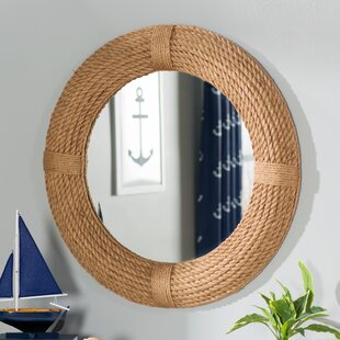 round mirror with rope Large Round Mirror With Rope | Wayfair round mirror with rope
