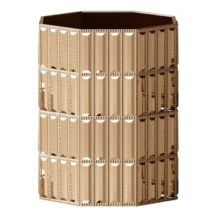 NU Steel Glitz Waste Basket