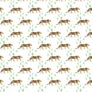 Read Reviews Tawney Tiger Fitted Crib Sheet ByBlush & Blue
