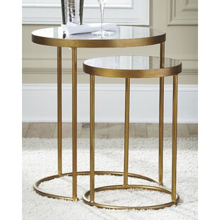 Redwood 2 Piece End Table by Mercer41