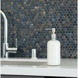 Clear Glass Soap Dispenser (Set of 2)