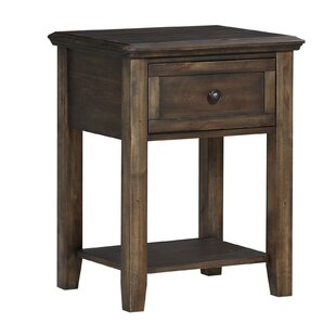 Reviews Longino 1 Drawer Nightstand by Millwood Pines