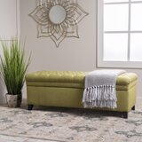 Superb Olive Green Storage Ottoman Wayfair Short Links Chair Design For Home Short Linksinfo