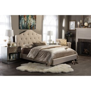 Shop For Anica Upholstered Platform Bed by Wholesale Interiors Reviews (2019) & Buyer's Guide