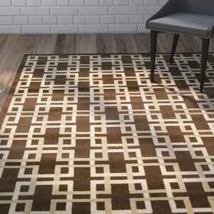 Severin Brown Area Rug