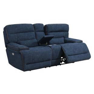 Shop Avis Reclining Loveseat by Winston Porter