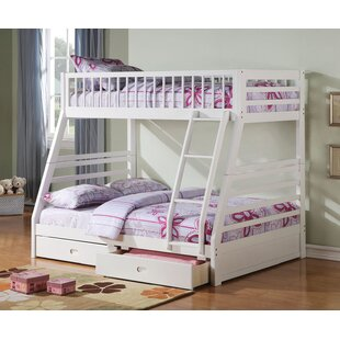 Samiyah TwinFull Bunk Bed with Drawers by Harriet Bee