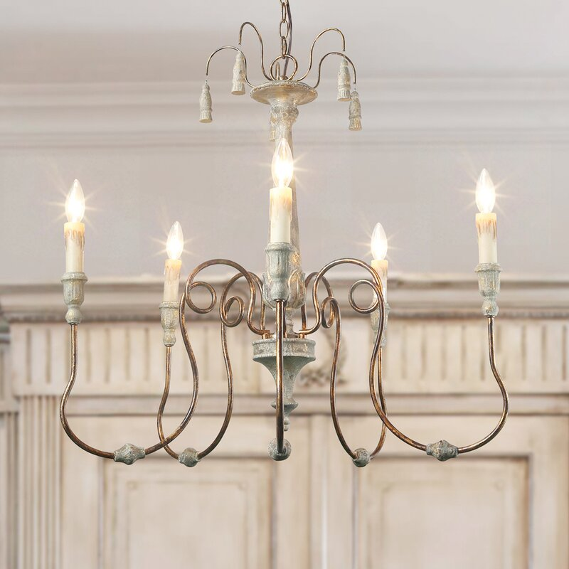 Lebow 5-Light Chandelier
