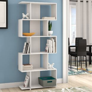 Angelica Geometric Bookcase by Turn on the Brights