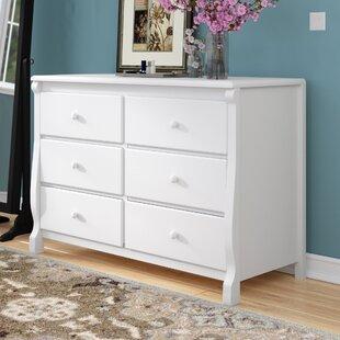 Mack & Milo Darlene 6 Drawer Double Dresser