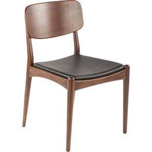dCOR design Namsos Genuine Leather Upholstered Dining Chair