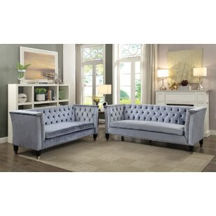 Everly Quinn Lucca Configurable Living Room Set