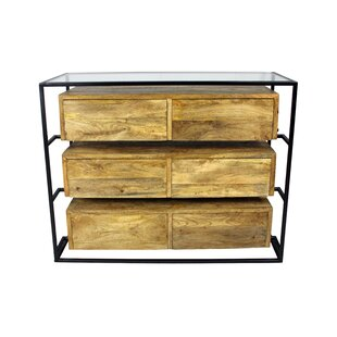 Sonia 6 Drawer Double Dresser