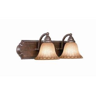 Broadmore 2-Light Vanity Light by Woodbridge Lighting