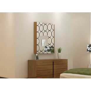 Failand 8 Drawer Double Dresser with Mirror