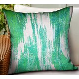 Huey Ikat Luxury Indoor/Outdoor Throw Pillow
