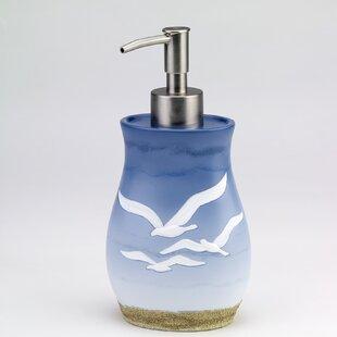 Reviews Seagull Lotion and Soap Dispenser ByAvanti Linens