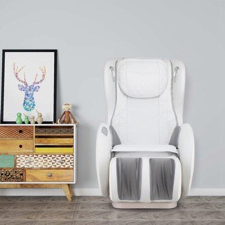 Massage Chairs SL Track Full Body And Recliner, Shiatsu Recliner, Massage Chair With Bluetooth Speaker-Beige