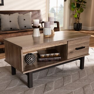 Whittaker 1-Drawer Coffee Table by Union Rustic SKU:DE450364 Check Price