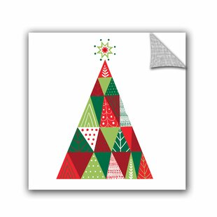 Christmas Trees And Flower Wall Decals Youll Love Wayfair