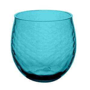 granada plastic stemless wine glass set of 6 - Plastic Stemless Wine Glasses