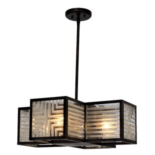 Brayden Studio Wendel 4-Light Shaded Chandelier