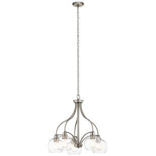 Latitude Run Hoover 5-Light Shaded Chandelier