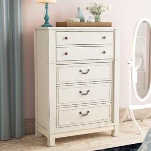 Find a Parfondeval 5 Drawer Standard Chest ByLark Manor