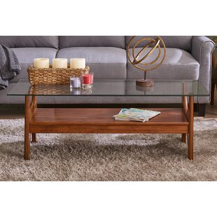 Low priced Nasir Coffee Table by George Oliver Reviews (2019) & Buyer's Guide