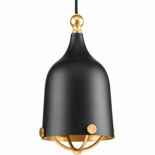 Wrought Studio Robbs 1-Light Bell Pendant