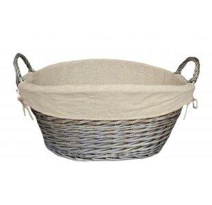 Wicker Laundry Basket By House Of Hampton