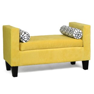 Johnone Upholstered Bench by Ebern Designs 2019 Online