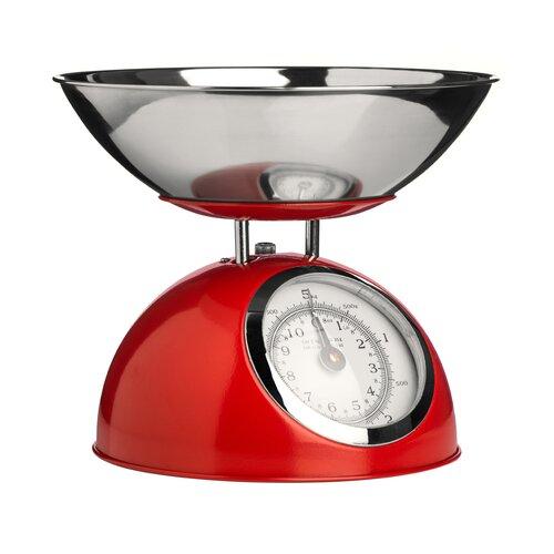 Mechanische Küchenwaage Wayfair Basics Farbe: Rot | Küche und Esszimmer > Küchengeräte > Küchenwaagen | Wayfair Basics