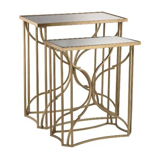 Best Price Mara 2 Piece Scroll End Table Set by Mercer41