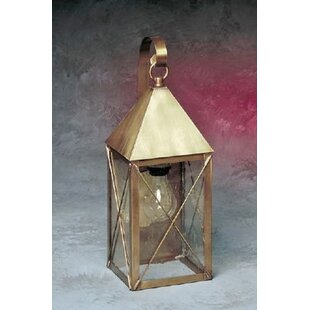 Top Reviews Michaela 1-Light Outdoor Wall Lantern By Longshore Tides