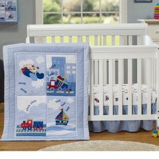 3 Piece Crib Bedding Set ByBaby Time International, Inc.