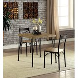 Ratner 3 Piece Dining Set by Gracie Oaks