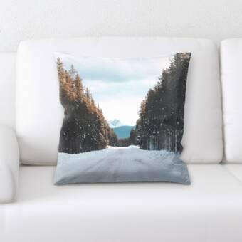 Loon Peak Bohatice Square Pillow Cover Insert Reviews Wayfair