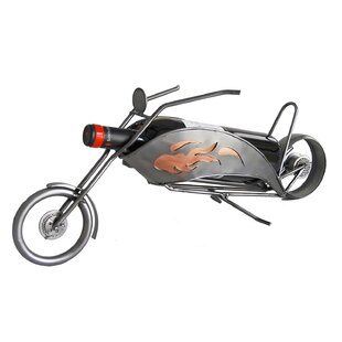 Motorcycle-Chopper 1 Bottle Tabletop Wine..