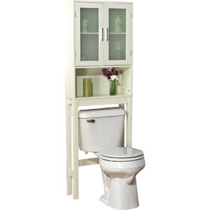 free standing 225 w x 673 h over the toilet storage - Bathroom Cabinets That Fit Over The Toilet