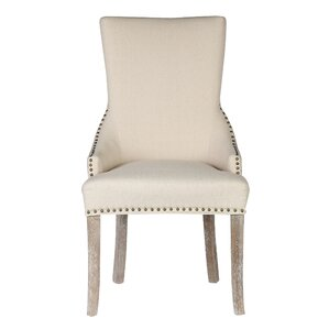 Madonna Nail Head Upholstered Dining Chair (Set of 2) by Caribou Dane